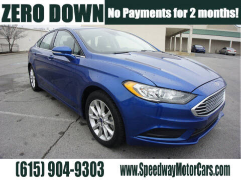 2017 Ford Fusion for sale at Speedway Motors in Murfreesboro TN