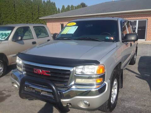 2006 GMC Sierra 1500 for sale at Dun Rite Car Sales in Downingtown PA