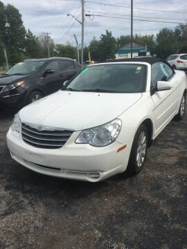 2010 Chrysler Sebring for sale at Hamburg Motors in Hamburg NY