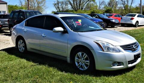 2012 Nissan Altima for sale at PINNACLE ROAD AUTOMOTIVE LLC in Moraine OH