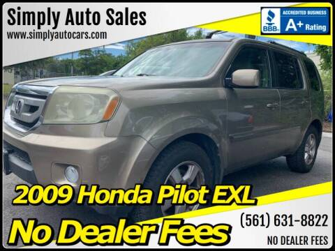 2009 Honda Pilot for sale at Simply Auto Sales in Palm Beach Gardens FL