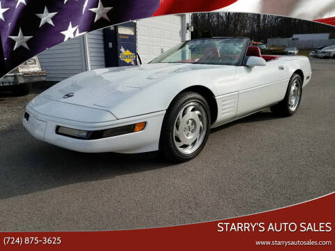 1994 Chevrolet Corvette for sale at STARRY'S AUTO SALES in New Alexandria PA