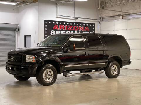2005 Ford Excursion for sale at Arizona Specialty Motors in Tempe AZ