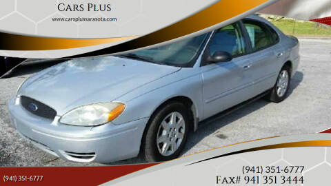 2006 Ford Taurus for sale at Cars Plus in Sarasota FL