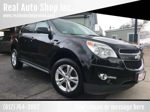 2011 Chevrolet Equinox for sale at Real Auto Shop Inc. in Somerville MA