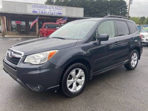 2014 Subaru Forester for sale at Greenbrier Auto Sales in Greenbrier AR