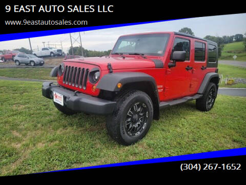 2010 Jeep Wrangler Unlimited for sale at 9 EAST AUTO SALES LLC in Martinsburg WV