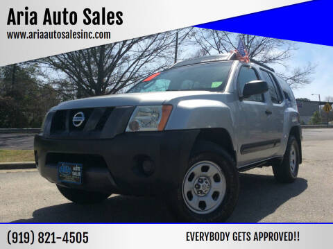 2005 Nissan Xterra for sale at ARIA  AUTO  SALES in Raleigh NC