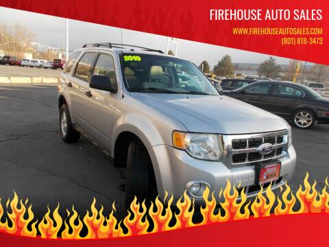 2010 Ford Escape for sale at Firehouse Auto Sales in Springville UT