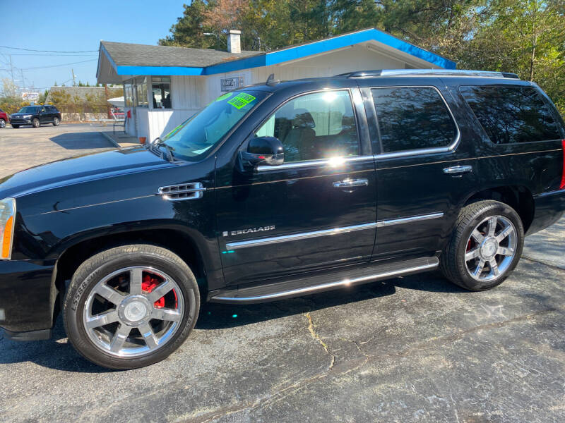 2007 Cadillac Escalade for sale at TOP OF THE LINE AUTO SALES in Fayetteville NC