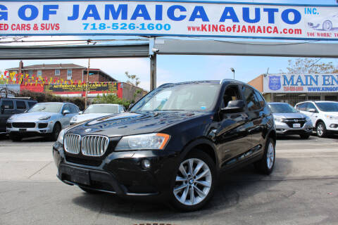 2014 BMW X3 for sale at MIKEY AUTO INC in Hollis NY