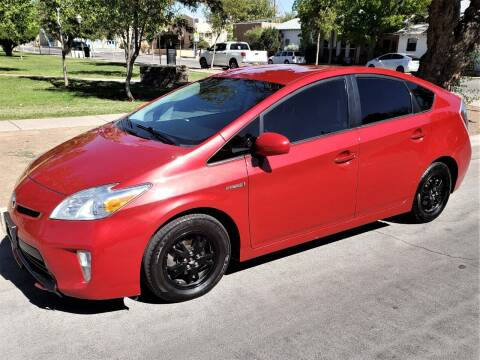 2015 Toyota Prius for sale at Fiesta Motors Inc in Las Cruces NM