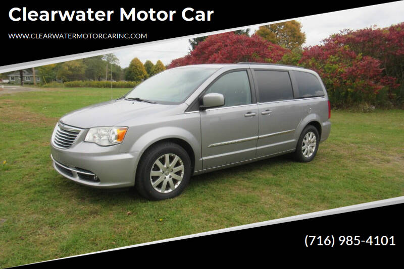 2013 Chrysler Town and Country for sale at Clearwater Motor Car in Jamestown NY