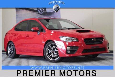 2016 Subaru WRX for sale at Premier Motors in Hayward CA