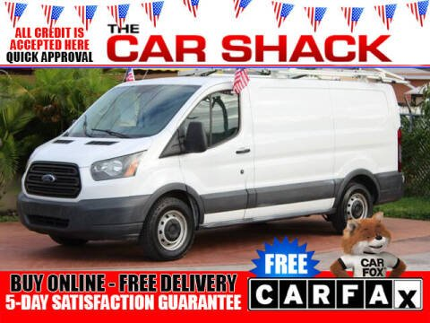 2015 Ford Transit Cargo for sale at The Car Shack in Hialeah FL