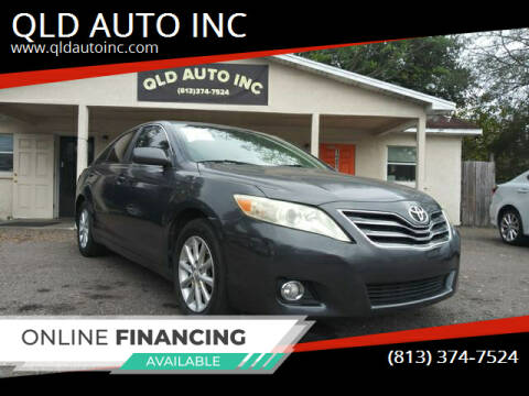 2010 Toyota Camry for sale at QLD AUTO INC in Tampa FL