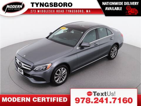 2017 Mercedes-Benz C-Class for sale at Modern Auto Sales in Tyngsboro MA