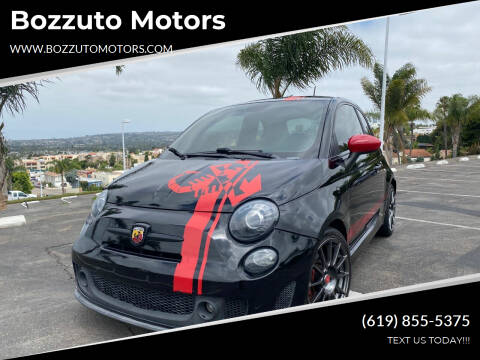 2014 FIAT 500 for sale at Bozzuto Motors in San Diego CA
