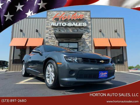 2014 Chevrolet Camaro for sale at HORTON AUTO SALES, LLC in Linn MO