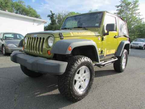 2008 Jeep Wrangler for sale at Purcellville Motors in Purcellville VA