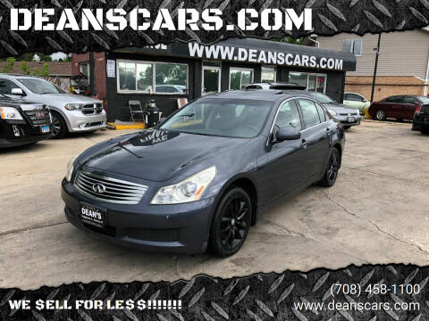 2007 Infiniti G35 for sale at DEANSCARS.COM in Bridgeview IL