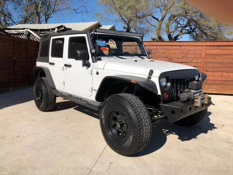 2012 Jeep Wrangler Unlimited for sale at Speedway Motors TX in Fort Worth TX