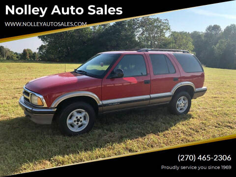 1997 Chevrolet Blazer for sale at Nolley Auto Sales in Campbellsville KY