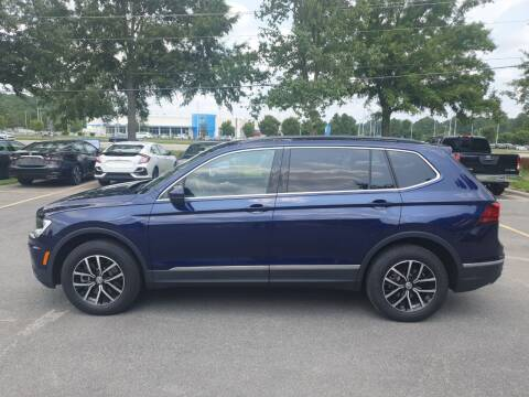 2021 Volkswagen Tiguan for sale at Econo Auto Sales Inc in Raleigh NC