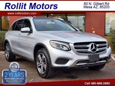 2017 Mercedes-Benz GLC for sale at Rollit Motors in Mesa AZ