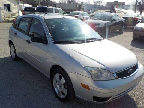 2007 Ford Focus for sale at SEBASTIAN AUTO SALES INC. in Terre Haute IN