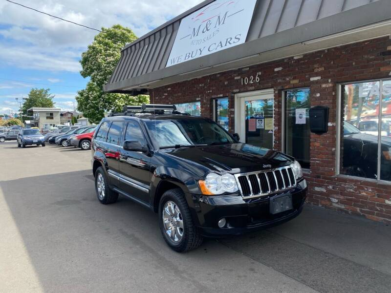 2008 Jeep Grand Cherokee for sale at M&M Auto Sales in Portland OR