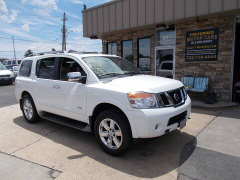 2009 Nissan Armada for sale at Preferred Motor Cars of New Jersey in Keyport NJ