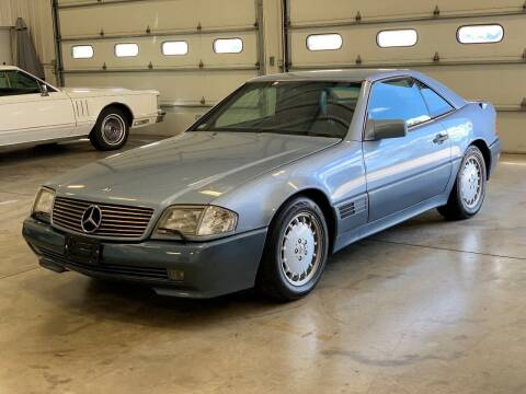 1991 Mercedes-Benz 500-Class for sale at Gary Miller's Classic Auto in El Paso IL