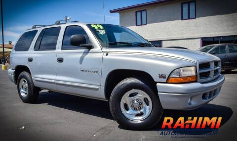 1999 Dodge Durango for sale at Rahimi Automotive Group in Yuma AZ
