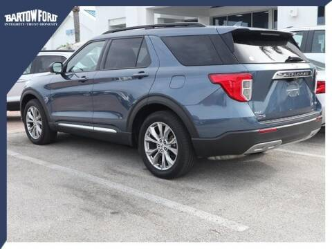 2020 Ford Explorer for sale at BARTOW FORD CO. in Bartow FL