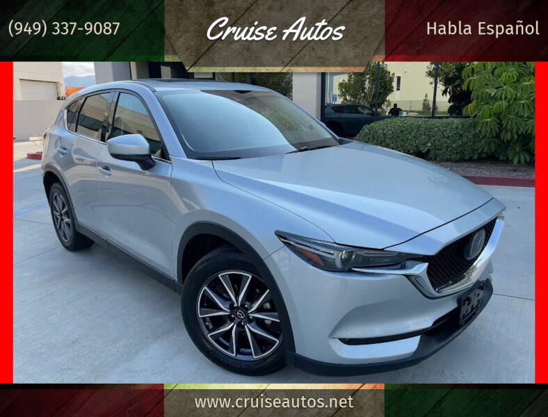 2018 Mazda CX-5 for sale at Cruise Autos in Corona CA