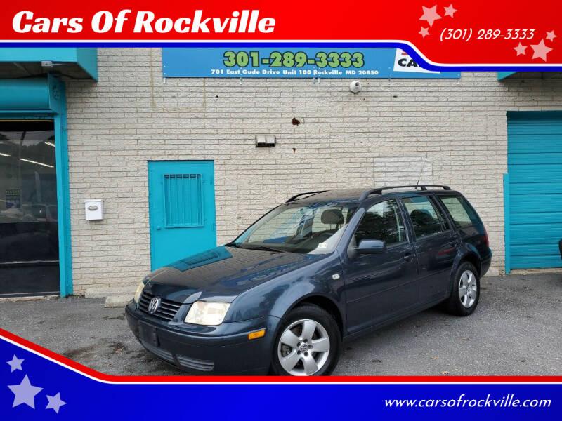 2005 Volkswagen Jetta for sale at Cars Of Rockville in Rockville MD