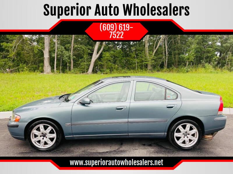 2004 Volvo S60 for sale at Superior Auto Wholesalers in Burlington NJ