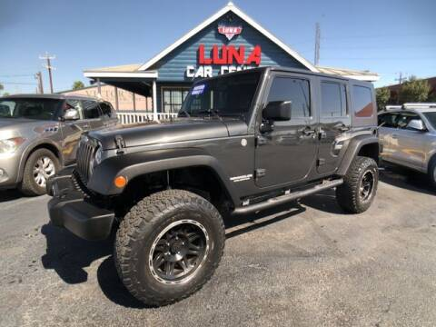 2010 Jeep Wrangler Unlimited for sale at LUNA CAR CENTER in San Antonio TX