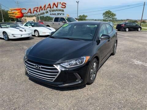 2017 Hyundai Elantra for sale at Carmans Used Cars & Trucks in Jackson OH