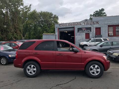 2008 Kia Sorento for sale at Dan's Auto Sales and Repair LLC in East Hartford CT