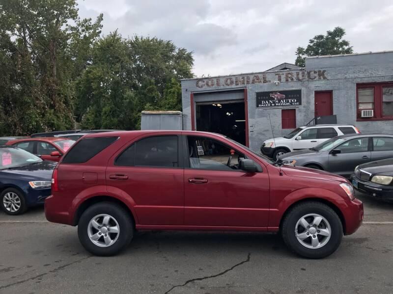 2008 Kia Sorento for sale at Dan's Auto Sales and Repair LLC in East Hartford CT