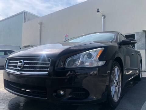 2010 Nissan Maxima for sale at Eden Cars Inc in Hollywood FL