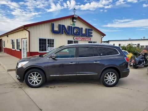 """2015 Buick Enclave for sale at UNIQUE AUTOMOTIVE """"BE UNIQUE"""" in Garden City KS"""