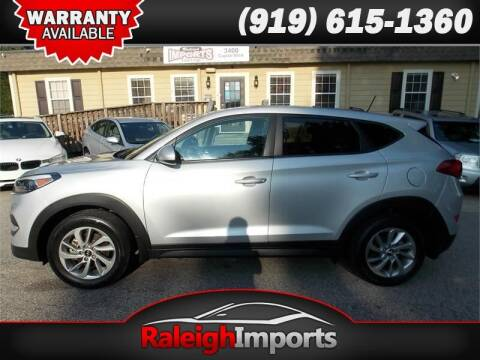 2016 Hyundai Tucson for sale at Raleigh Imports in Raleigh NC
