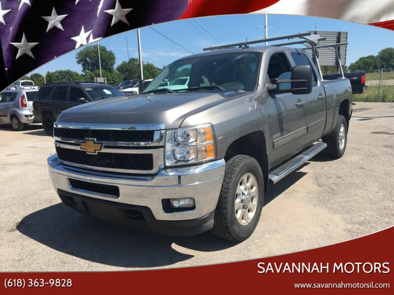 2012 Chevrolet Silverado 2500HD for sale at Savannah Motors in Cahokia IL