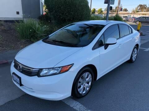 2012 Honda Civic for sale at Car House in San Mateo CA