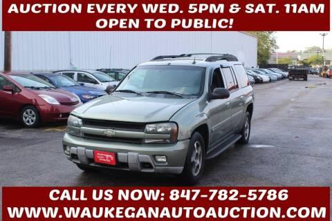 2004 Chevrolet TrailBlazer EXT for sale at Waukegan Auto Auction in Waukegan IL
