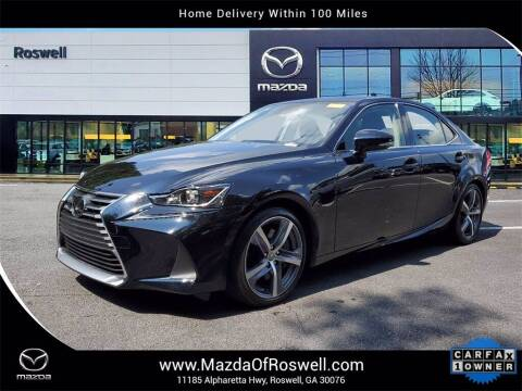 2018 Lexus IS 350 for sale at Mazda Of Roswell in Roswell GA