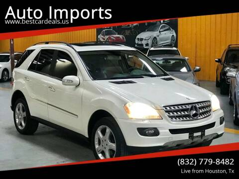2008 Mercedes-Benz M-Class for sale at Auto Imports in Houston TX
